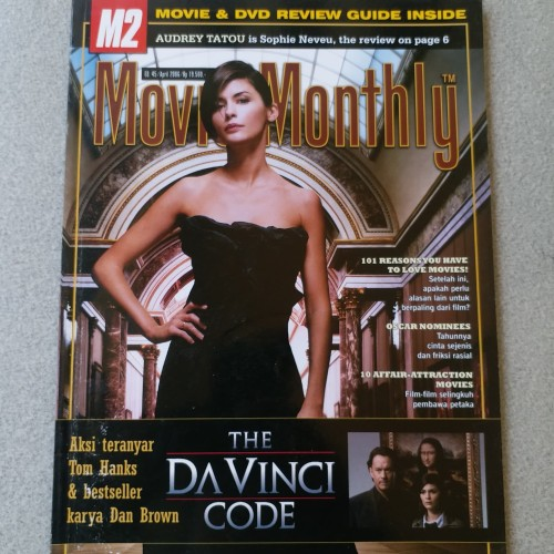 Jual Majalah Movie Monthly April 2006 Kab Kuningan Hires Book Store Tokopedia