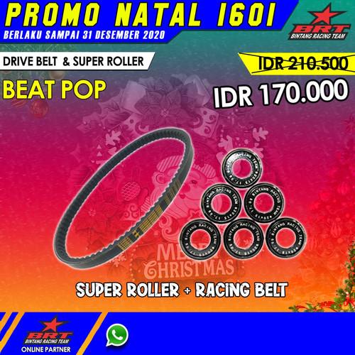 Foto Produk BRT Paket Super Roller & Racing Belt Beat POP - PAKET NON BUSI dari GP Racing Store