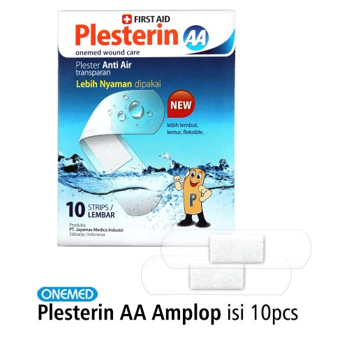 Foto Produk Plesterin AA Amplop Isi 10 Onemed dari OneMed-Medicom