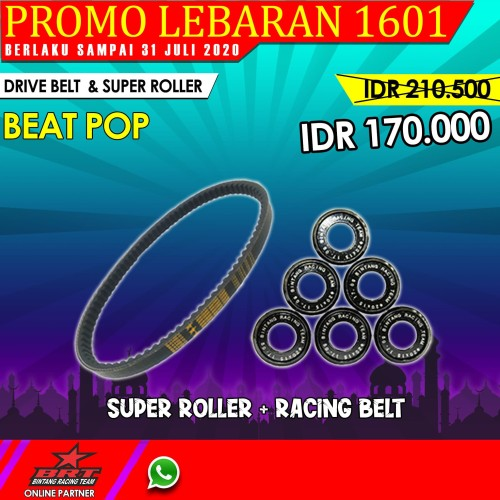 Foto Produk DRIVE BELT WITH SUPER ROLLER BRT BEAT POP dari BRT FACTORY ONLINE STORE