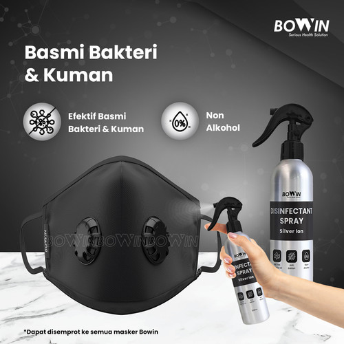 Foto Produk Bowin Disinfectant - Silver Ion Technology (Cairan Antiseptik) - 250ml dari Bowin Indonesia