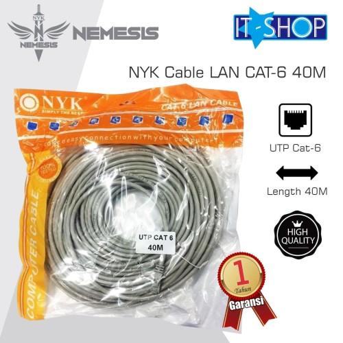 Foto Produk NYK Cable LAN CAT-6 40M dari IT-SHOP-ONLINE