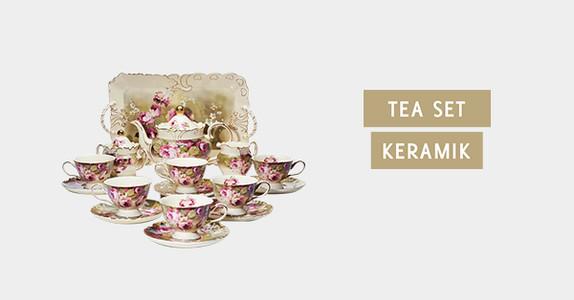Tea Set Keramik