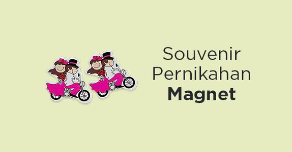 Souvenir Pernikahan Magnet