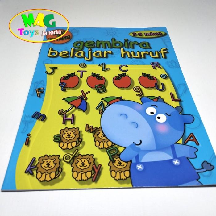 Foto Produk buku belajar huruf untuk anak paud dari MAG TOYS