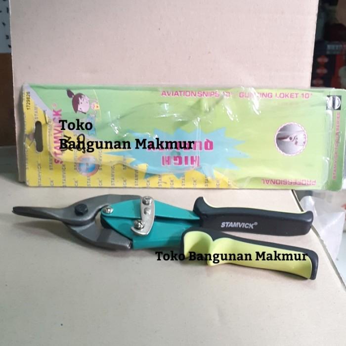 Foto Produk Gunting Baja Ringan Stamvick dari toko Bangunan Makmur