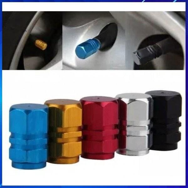 Foto Produk Tutup Pentil Ban Mobil Dan Motor Isi 4pcs Tutup Pentil Warna dari AnerStore