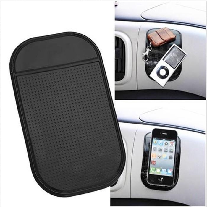 Foto Produk Phone Car Anti Slip Stick Pad Dasboard mobil / Alas HP Anti Slip dari AnerStore
