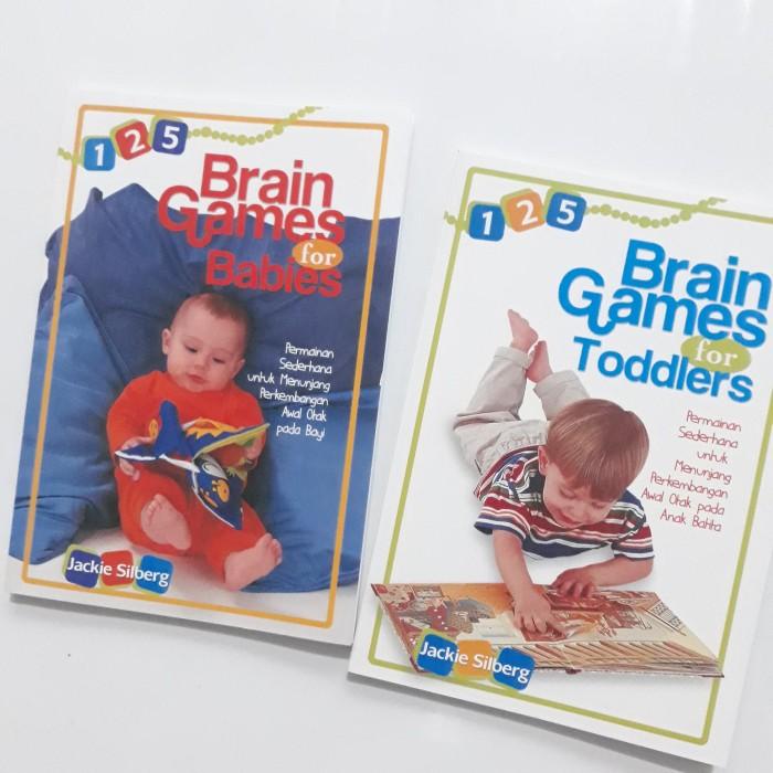 Foto Produk Paket Buku 125 Brain Games for Babies Toddlers Mencerdaskan Otak Anak dari Sahabat Buku Anak