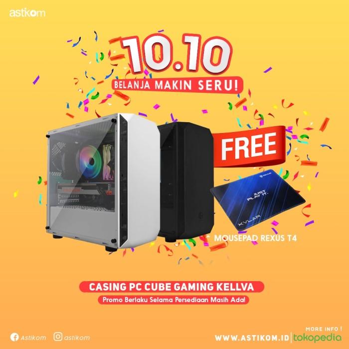 Jual Casing Pc Cube Gaming Kellva By Astikom Hitam Kota Denpasar Astikom Tokopedia