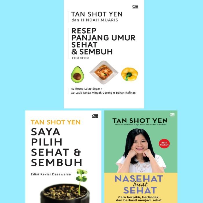 Foto Produk resep panjang umur sehat Saya pilih Sehat Nasehat Buat Tan Shot Yen dari Showroom Books