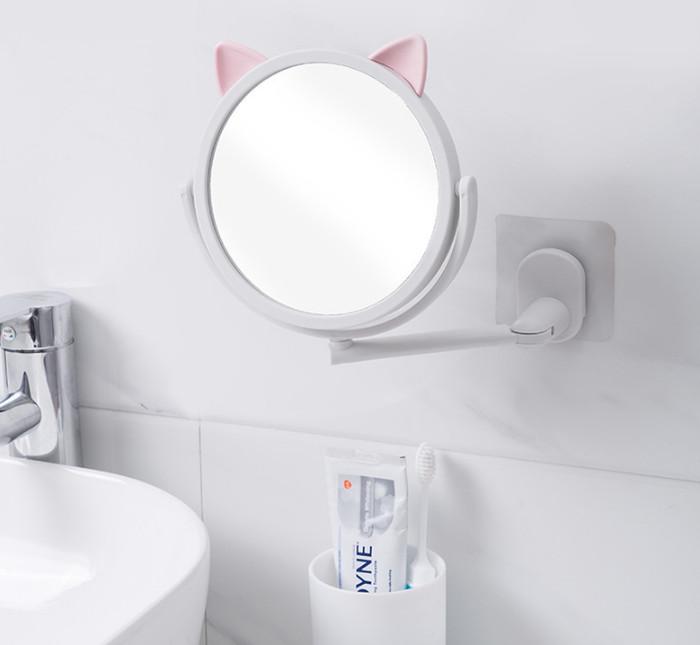 Foto Produk kaca tempel . kaca gantung , cermin tempel cermin kamar mandi make up dari KAYO