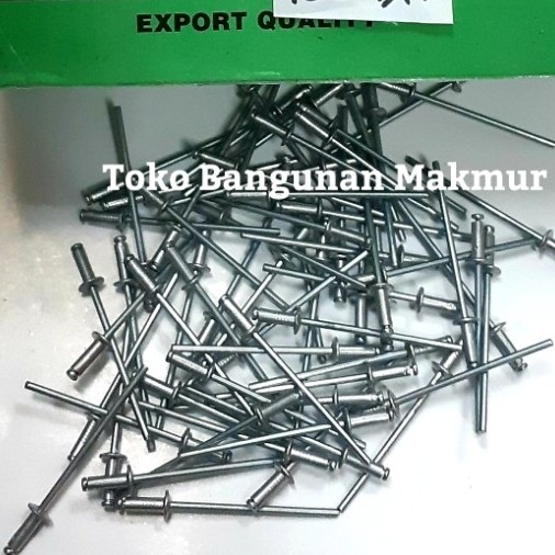 Foto Produk Paku Rifet 329 2.4x7mm Rivet 20 pcs dari toko Bangunan Makmur