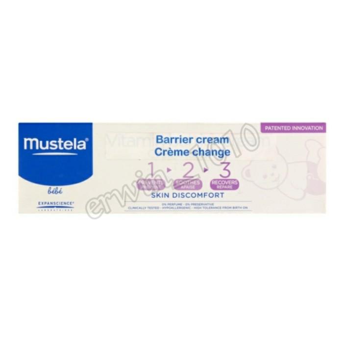 Foto Produk Mustela Baby Barrier Cream / Diaper Rash Cream 100ml dari Erwin 1010