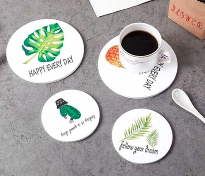Foto Produk tatakan piring summer , tatakan piring unik , tatakn gelas flaminggo dari KAYO