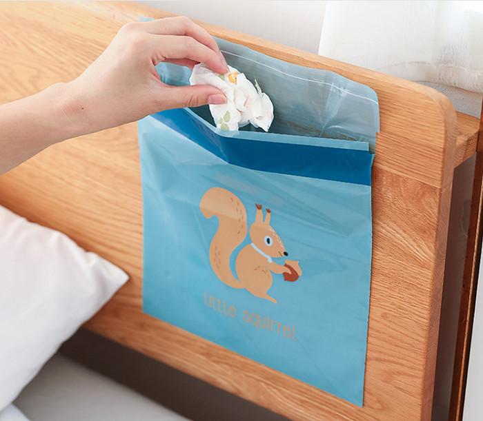 Foto Produk kantong plastik sampah cartoon , kantong sampah serba guna , kantong - Biru dari KAYO