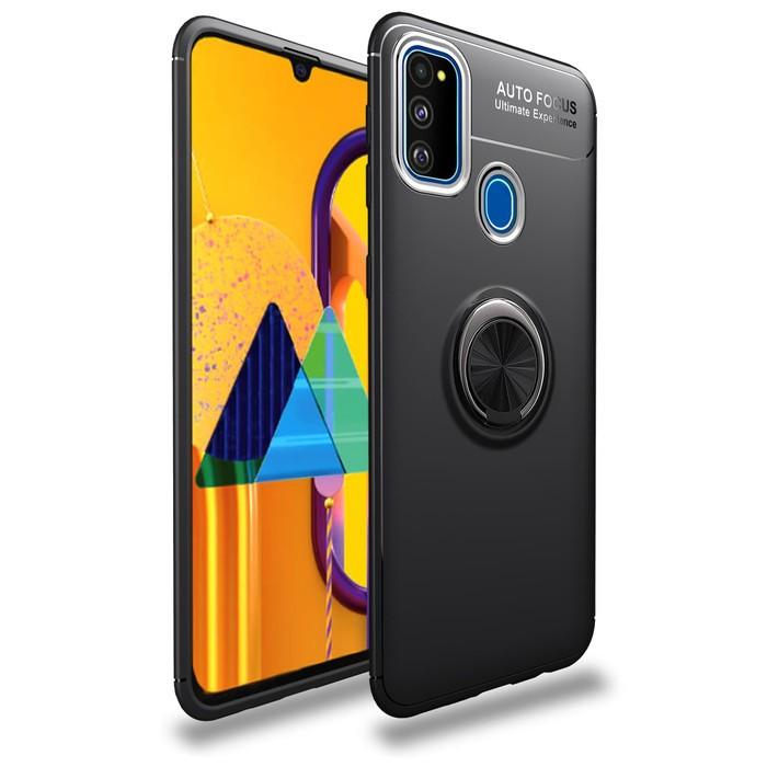Foto Produk Samsung Note 10 lite iRing Invisible TPU Soft Case - Hitam dari importking
