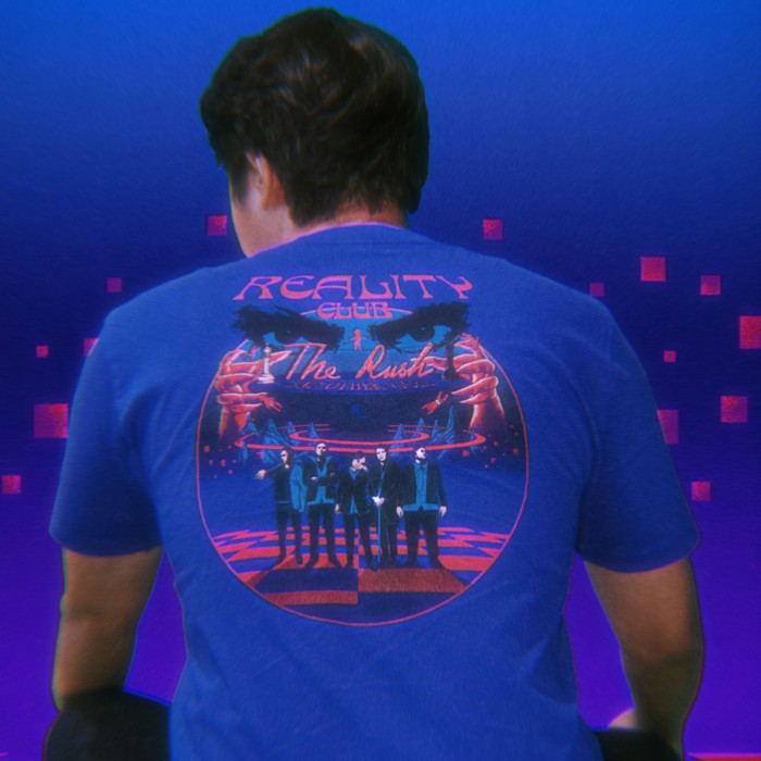 Foto Produk Reality Club - The Rush and Other Vices Tee - Blue dari Reality Club Official