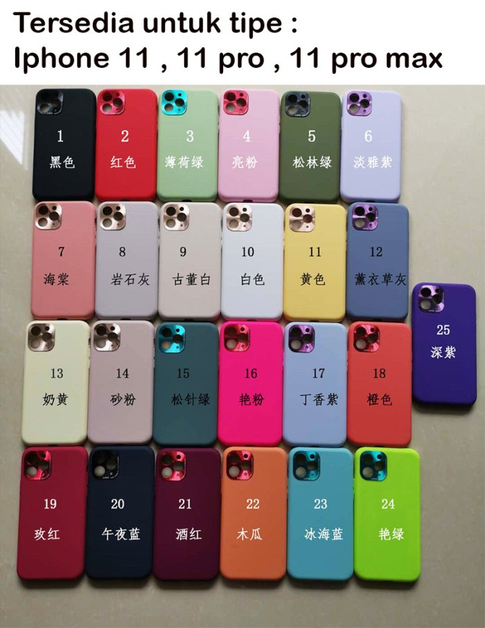Foto Produk Slim silicone soft case iphone 11 11pro 11 pro 11 pro max - Iphone 11 dari importking