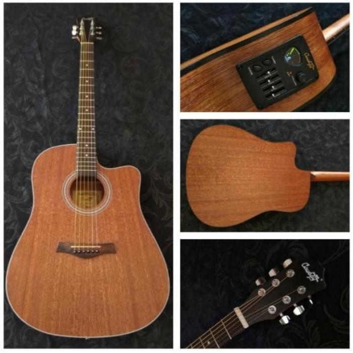 Foto Produk Gitar Akustik Elektrik String Cowboy GWC-240NS ORIGINAL dari JakartaUndercover.id