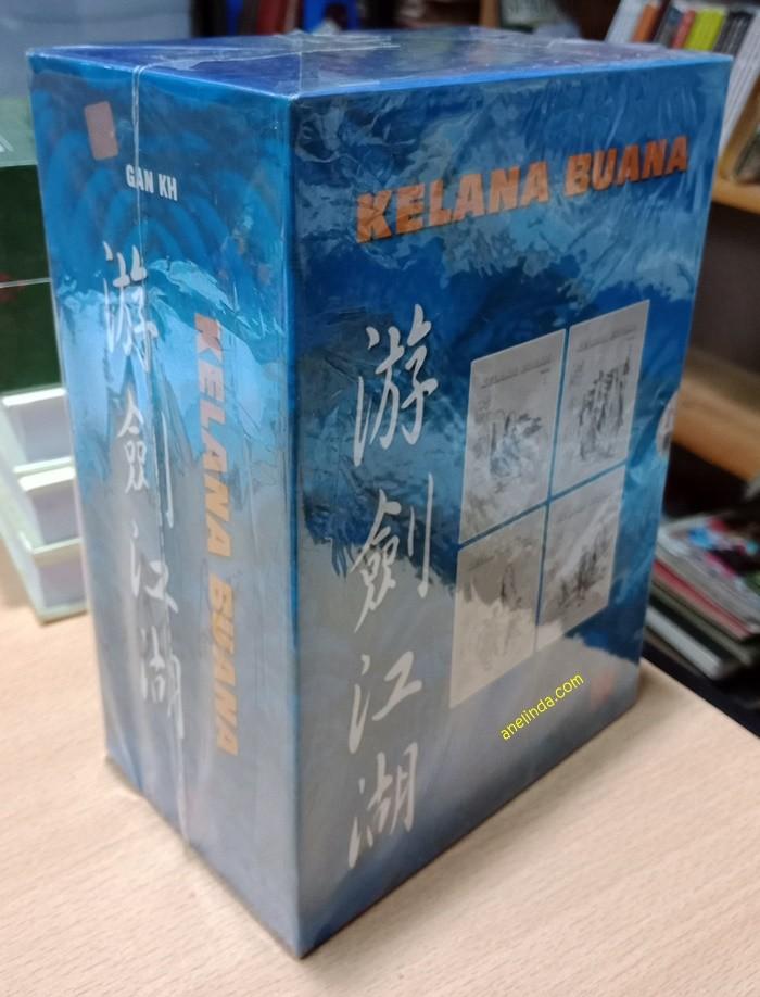 Foto Produk KELANA BUANA – 4 JILID TAMAT (SOFT COVER DENGAN BOX) dari Anelinda Buku Klasik