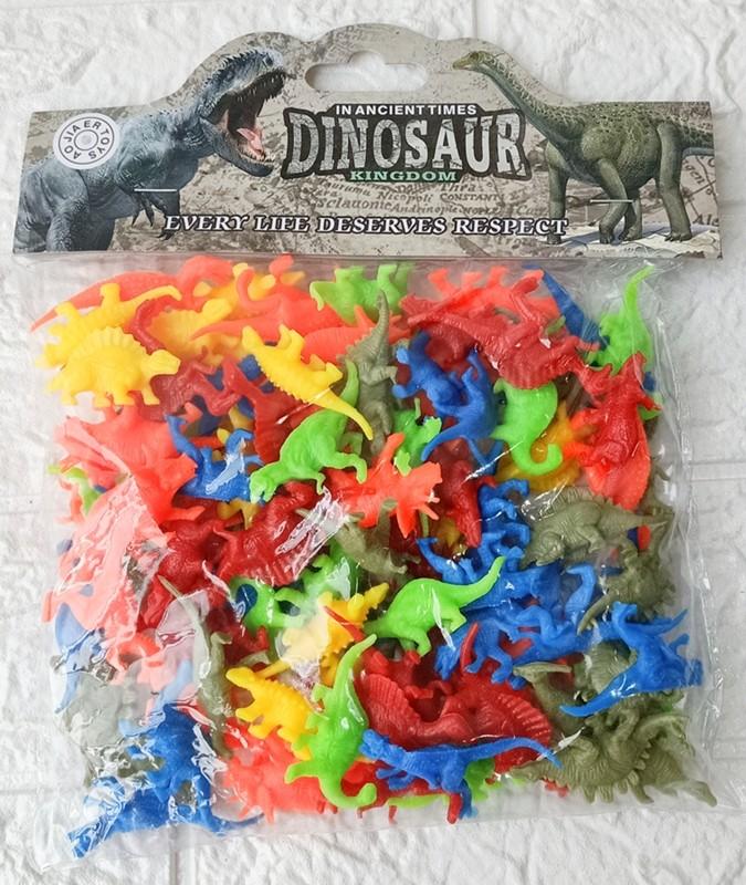 Foto Produk Figure Set Dinosaurus Dinosaur 100pcs No. 566-1 dari ANEKA MAINAN ONLINE