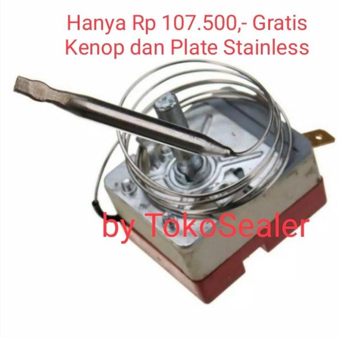Foto Produk Termostat Cup Sealer Eton - Pengatur Suhu - Spare Part Pres Gelas dari tokosealer