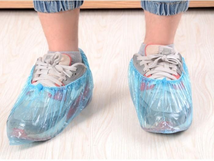 Foto Produk plastik sepatu , plastik pelindung sepatu , plastik bungkus sepatu dari KAYO