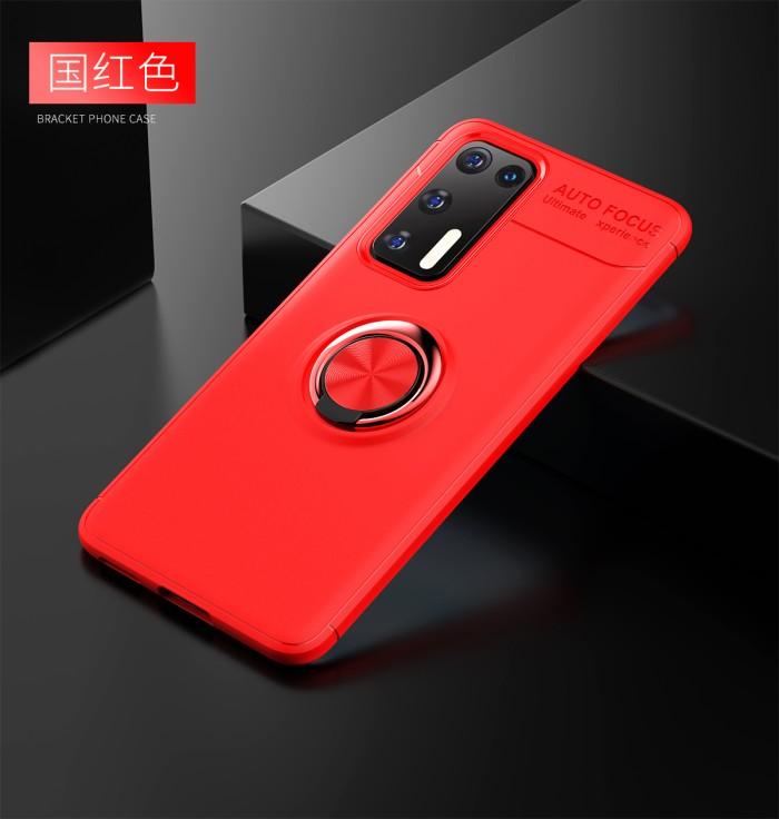 Foto Produk Huawei P40 iRing Invisible TPU Soft Case - Hitam dari importking