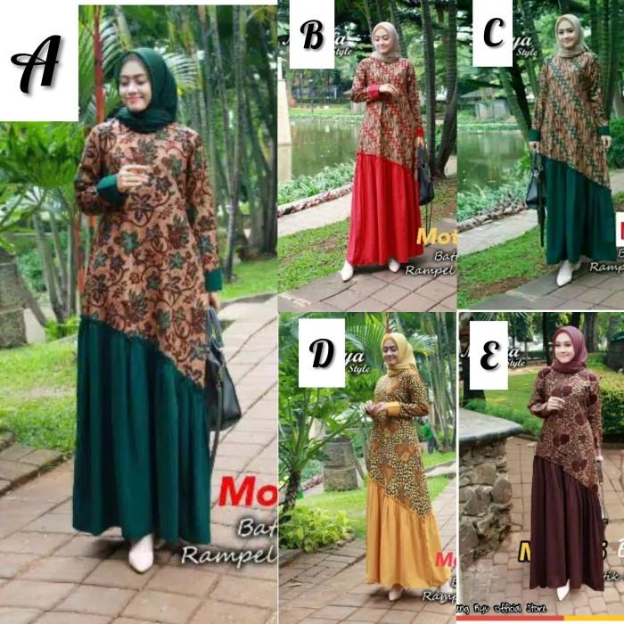 Foto Produk Gamis Batik Jumbo Meisya Style dari Mekar OS