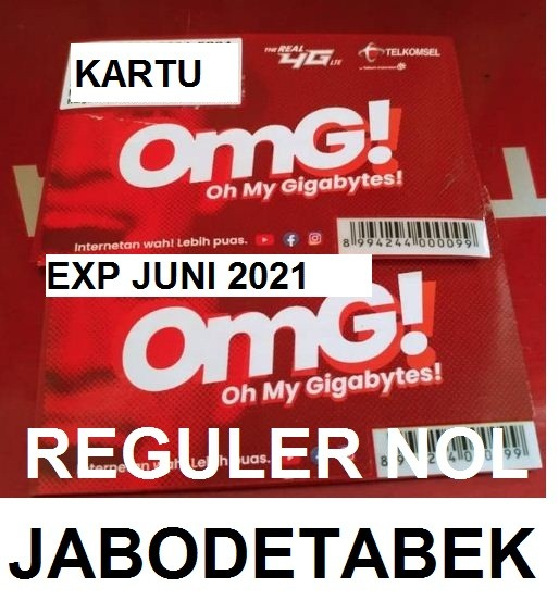 Foto Produk KARTU PERDANA TELKOMSEL SIMPATI OMG REGULER 0 K ( SP TSEL RED ) dari UniversalStore Indonesia
