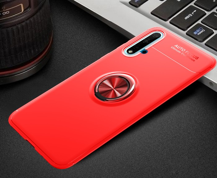 Foto Produk Huawei Nova 5T iRing Invisible TPU Soft Case - Hitam dari importking