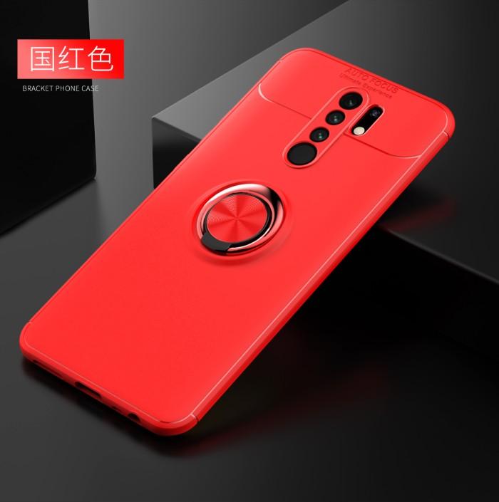 Foto Produk Xiaomi Redmi 9 iRing Invisible TPU Soft Case - Hitam dari importking