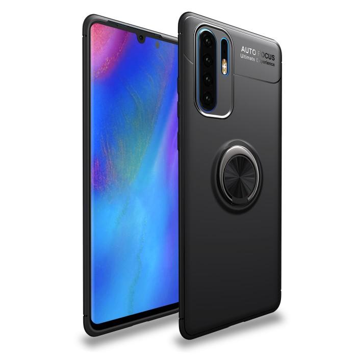 Foto Produk Huawei P30Pro iRing Invisible TPU Soft Case - Hitam dari importking