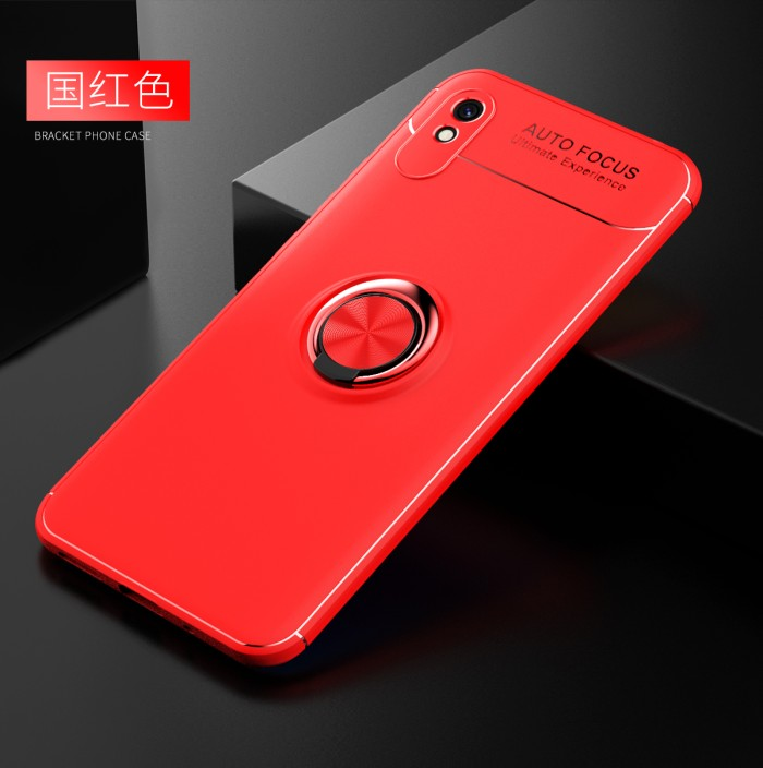 Foto Produk Xiaomi Redmi 9A iRing Invisible TPU Soft Case - Hitam dari importking