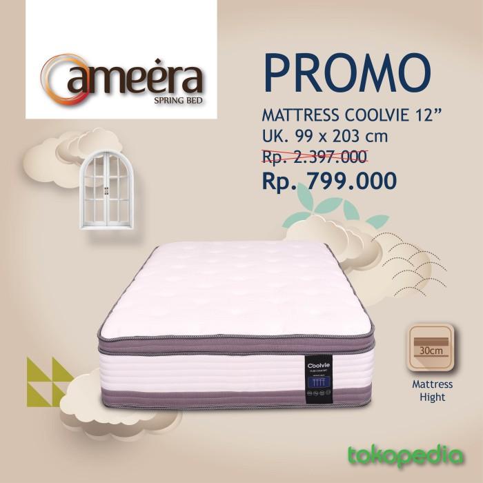 Promo Ameera Matress Coolvie 12 Ukuran 99x203 Kota Bandung Ameeraspringbed Tokopedia