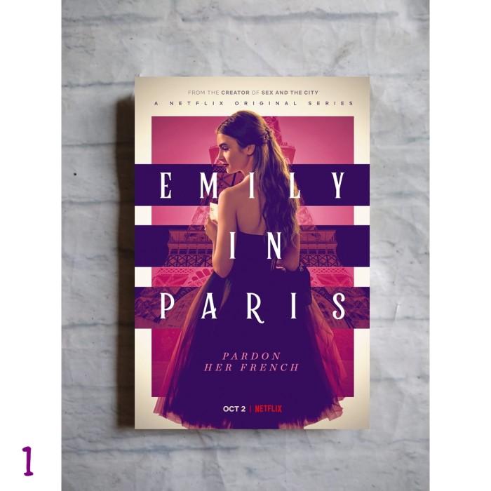 Jual Poster Film Emily In Paris Serial Tv Series Season Hiasan Dinding Gambar 1 Kab Purbalingga Replica Toys Diecast Tokopedia