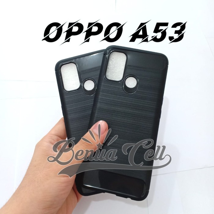 Foto Produk SOFTCASE OPPO A53 A33 - SLIM FIT CARBON OPPO A33 A53 dari BenuaCell