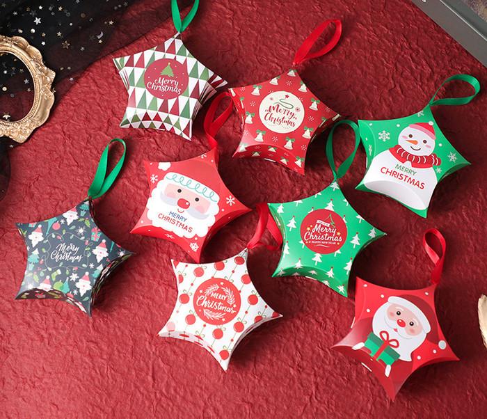 Foto Produk kotak natal bintang , kotak hadiah natal , kotak bingkisan natal kado dari KAYO