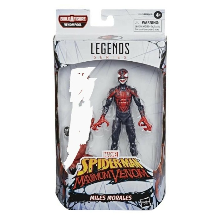 Foto Produk Marvel Legends Miles Morales Venomized maximum venom tanpa baf dari Charu Toys