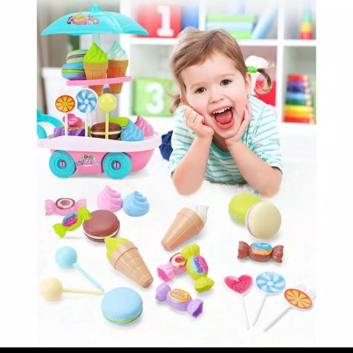 Foto Produk mainan anak pretend play ice cream troly-ice cream truck set dari AUTO KID II