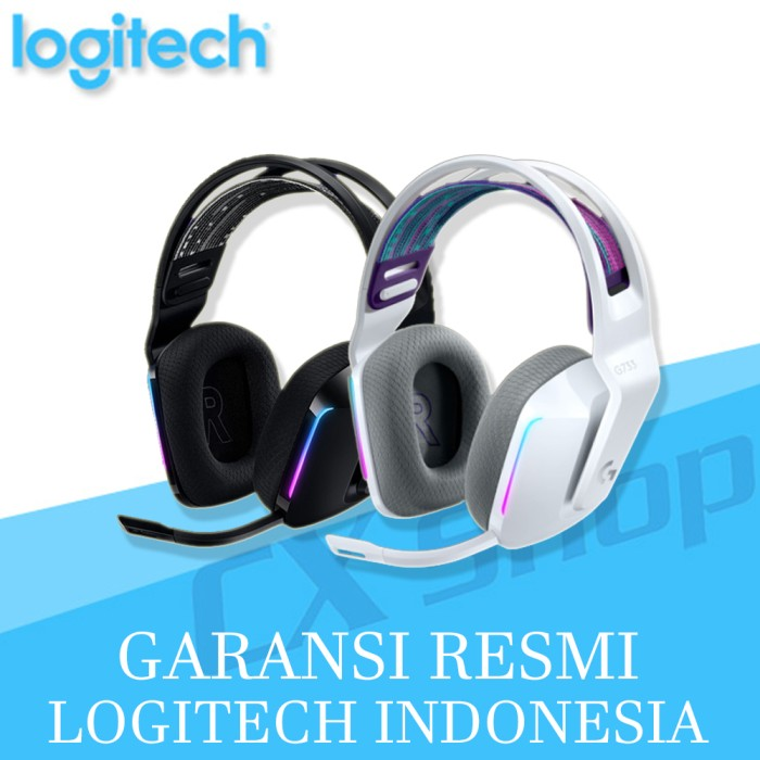 Foto Produk Logitech G733 LIGHTSPEED Wireless RGB 7.1 Surround Gaming Headset - Hitam dari cxshop