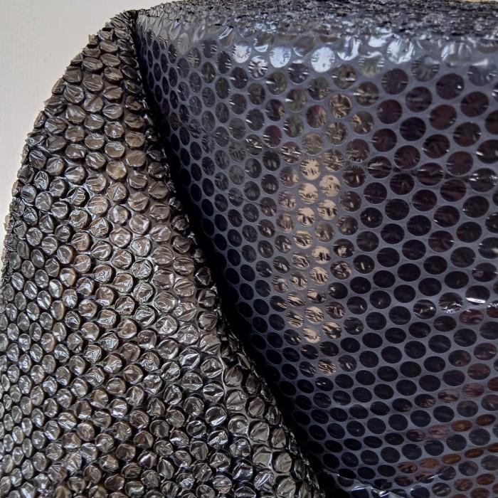 Foto Produk [KHUSUS GOJEK / GRAB] Plastik Bubble Wrap 125cm x 50m BLACK (HITAM) dari officemart