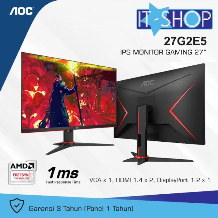 Foto Produk AOC Gaming Monitor 27G2E5 dari IT-SHOP-ONLINE