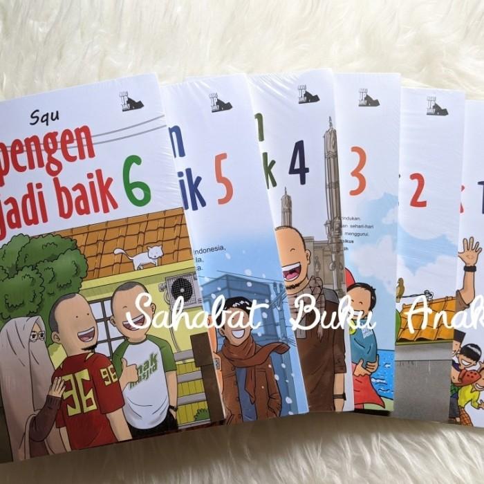Foto Produk Buku Komik Islami Pengen Jadi Baik 1-6 dari Sahabat Buku Anak