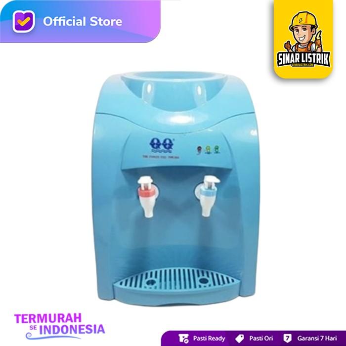 Jual Dispenser Air Qq 1166 2 Kran Biru Galon Panas Normal Kab Lumajang Sinar Listrik Lumajang Tokopedia