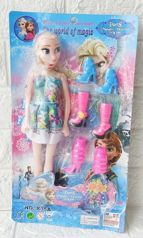 Foto Produk Mainan Boneka Frozen Doll No.X35A dari ANEKA MAINAN ONLINE
