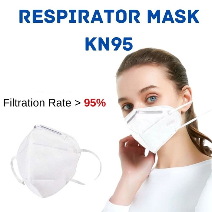 Foto Produk Masker KN95 impor Face Mask Masker KN 95 - 4PLY dari Indomei Store