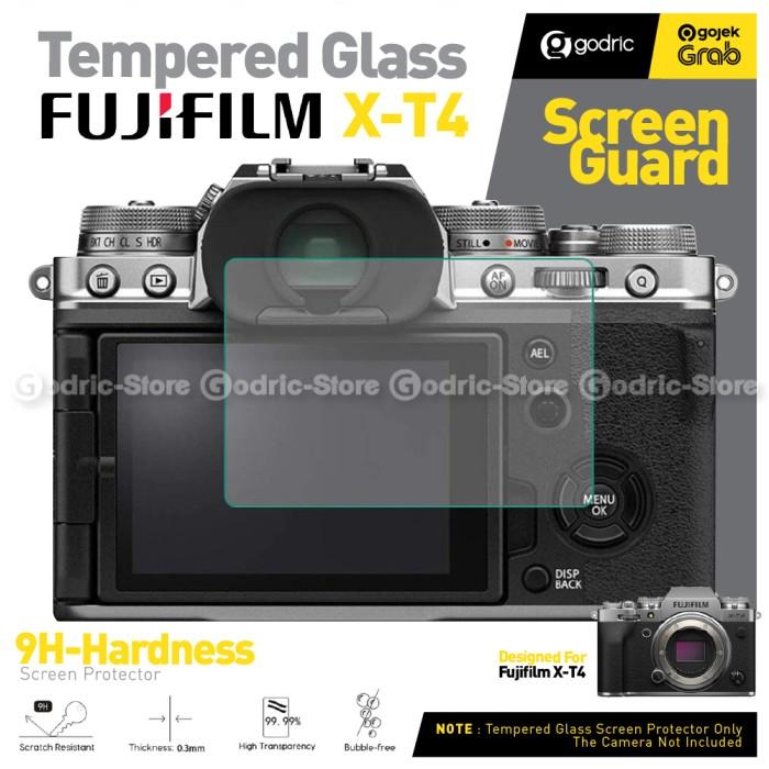 Foto Produk Tempered Glass for Fujifilm X-T4 / XT4 Screen Protector LCD Anti Gores dari Godric Store