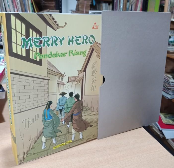 Foto Produk MERRY HERO – PENDEKAR RIANG (EDISI HARD COVER) dari Anelinda Buku Klasik